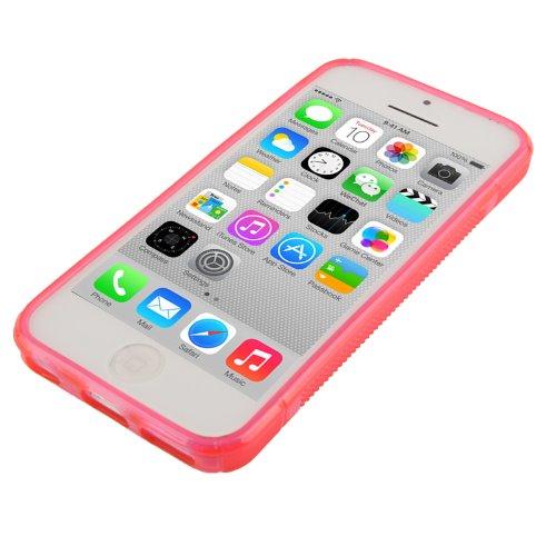 """iPhone 5C Hülle / Case / Cover in pink aus hochwertigem TPU (Silikon) im """"S-Line-Style"""" -ORIGINAL nur von THESMARTGUARD-"""