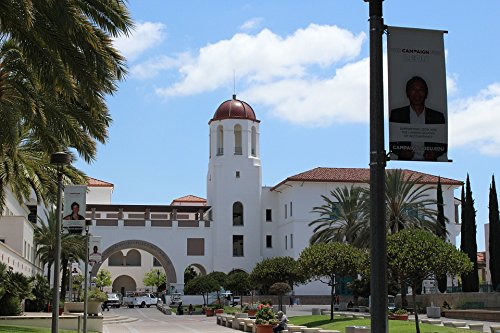 Home Comforts Peel-n-Stick Poster of San Diego State University Student Union Tower Poster 24x16 Adhesive Sticker Poster Print