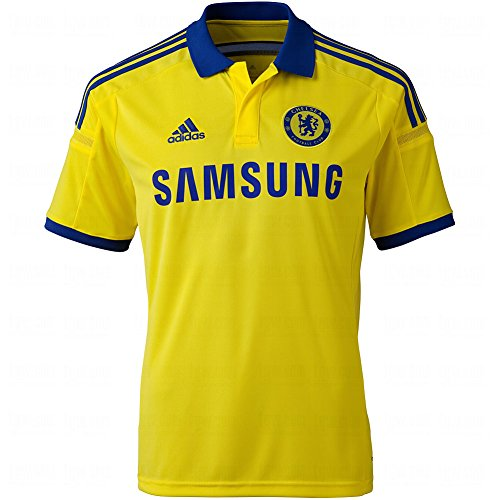 (Adidas Chelsea Away Youth Jersey [BYELLO/CHEBLU] (XL))