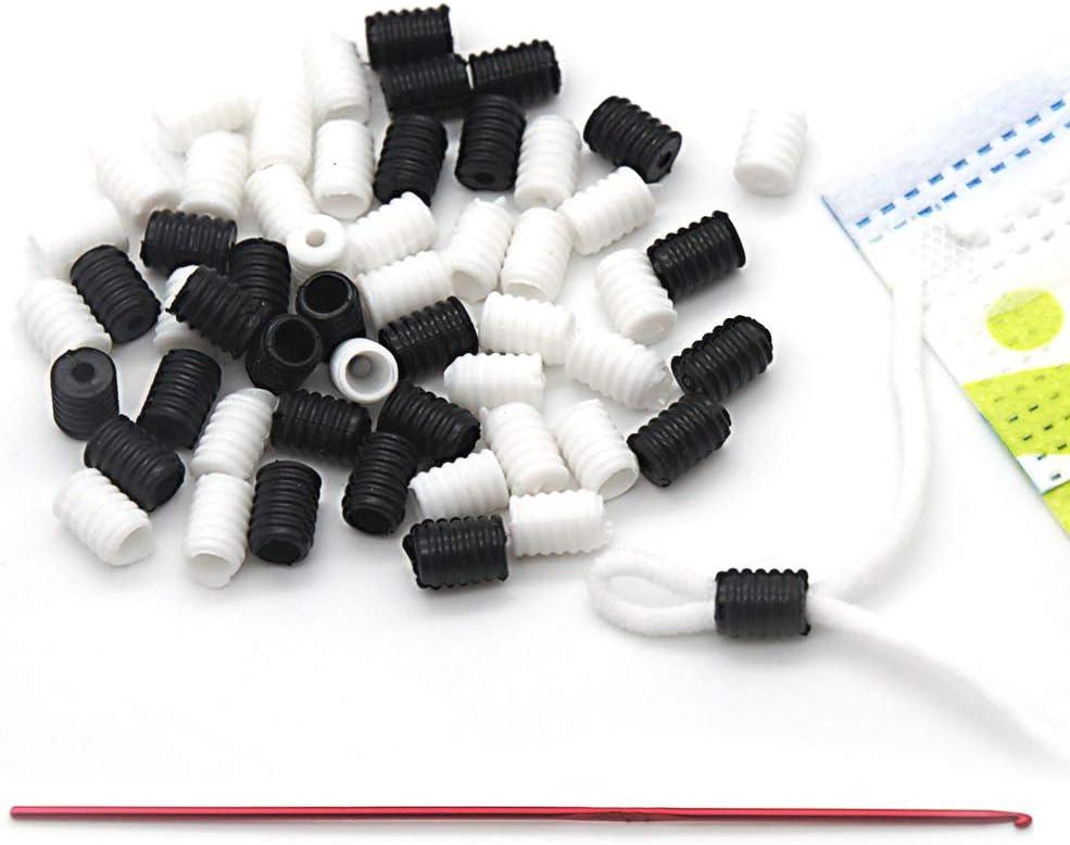 Cord Locks Silicone Toggles for Drawstrings Elastic Cord Adjuster Non Slip Stopper-Silicone Elastic Cord Stopper