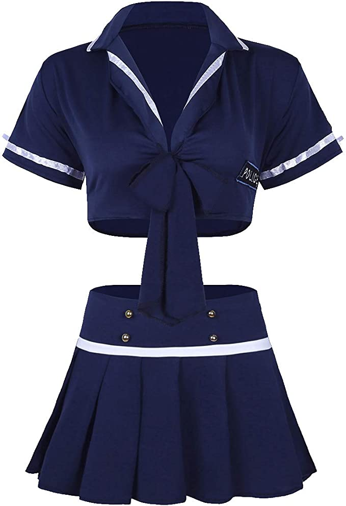 XueXian Womens Solid Sailors Style Navy Army Newsboy Cap