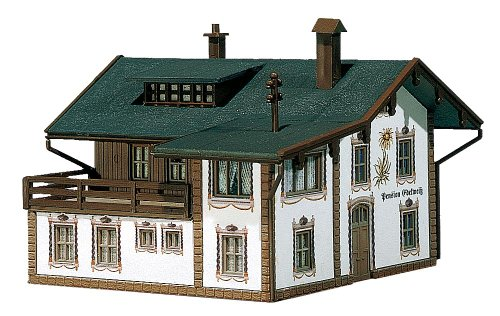 Faller 232234 Boarding House with Accessories N Scale Building Kit