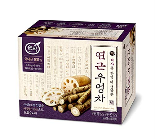 100% Natural Organic Tea 0.7g x 40 T/Tea bags (Lotus Root & Burdock Tea)