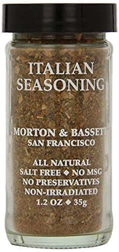 Morton & Bassett Italian Seasoning, 1.2-Ounce Jars (Pack of 3)