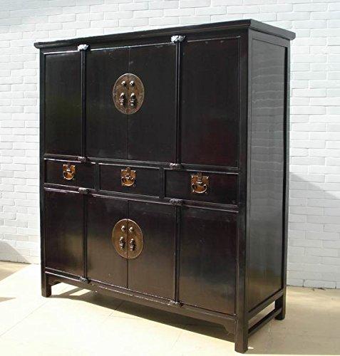Antique Black Cabinet by DYAG East