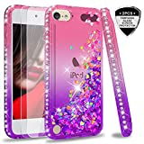 iPod Touch 6 Case,iPod Touch 5 Case with Tempered Glass Screen Protector [2
