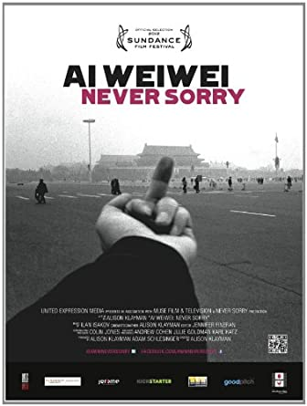 Image Unavailable Image Not Available For Color Ai Weiwei Never Sorry