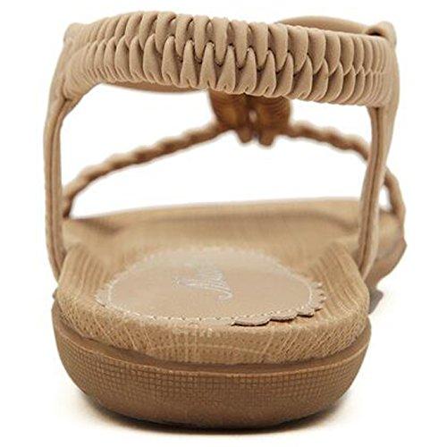 SUNAVY - Zapatos de tacón  Mujer Aprikosen