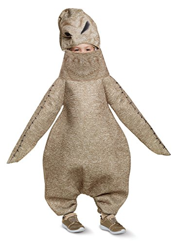 Disguise Oogie Boogie Classic Toddler Child Costume, Brown, Size/(2T) -