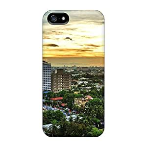 Hard Plastic Iphone 5/5s Case Back Cover,hot Rooftops Case At Perfect Diy