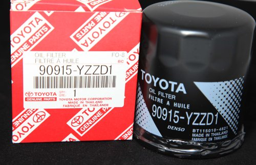 Toyota Genuine Parts 90915-YZZD1 Oil Filter 1 Case (QTY 10)