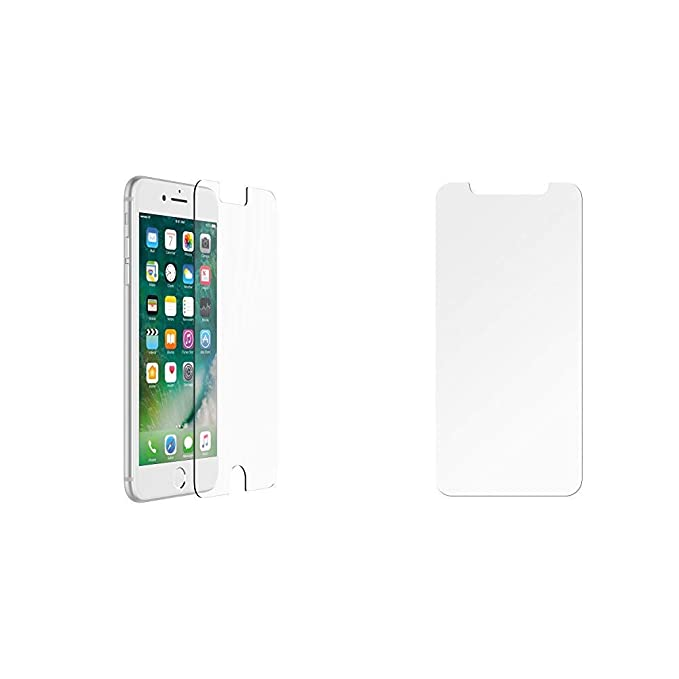 newest 2dd21 c6bf6 Amazon.com: OtterBox ALPHA GLASS SERIES Screen Protector for iPhone ...