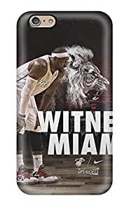 Perfect Sports Nba Basketball Lebron James Miami Heat Basketball Player Case Cover Skin For Iphone 6 Phone Case