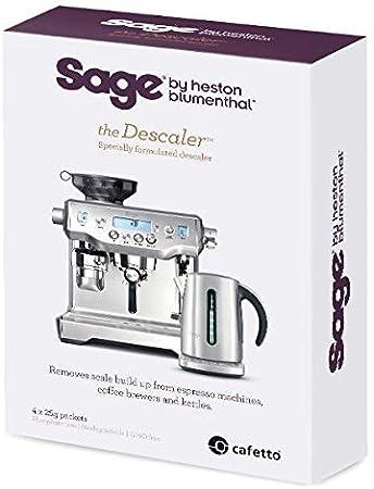 Sage Appliances SES007NEU0NEU1 Descalcificador: Amazon.es: Hogar