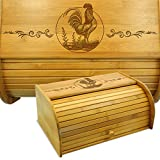 Cookbook People Bread Box Rooster