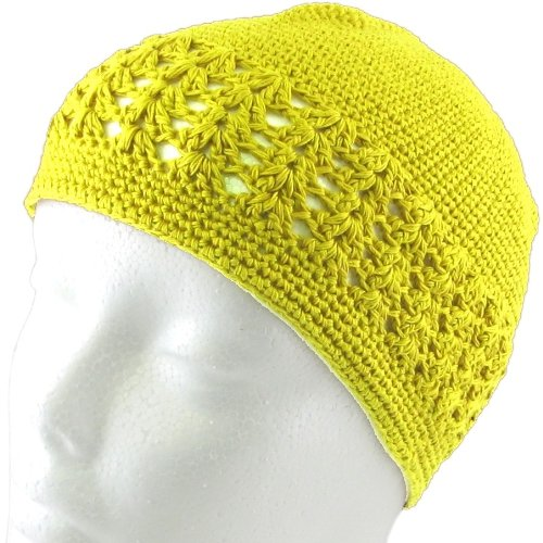 Knit  (Yellow Beanie Hat)
