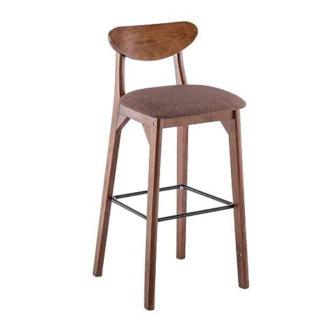 Fine Amazon Com Cylq Wooden Bar Stool Counter Height Bar Chair Beatyapartments Chair Design Images Beatyapartmentscom