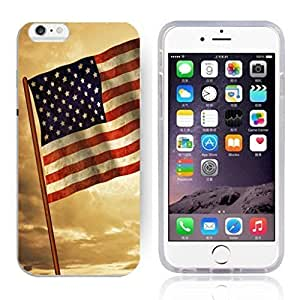 America Flag Design Pattern HD Durable Hard Plastic Case Cover for iphone 5s