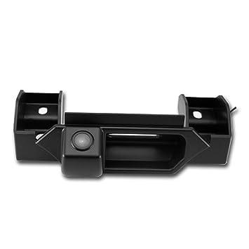Cámara reversible del vehículo de 170 ° integrada en caso maneja la cámara de marcha atrás