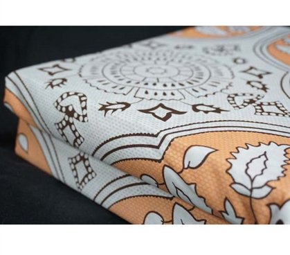Amazon.com: DormCo Twin XL Sheet Set Mandala Peach   Designer