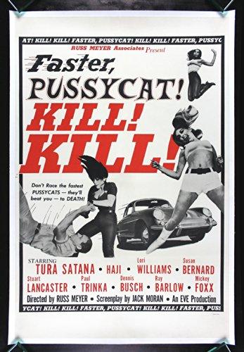 Faster Pussycat ! Kill ! Kill CineMasterpieces Movie Poster 1965 Russ Meyer