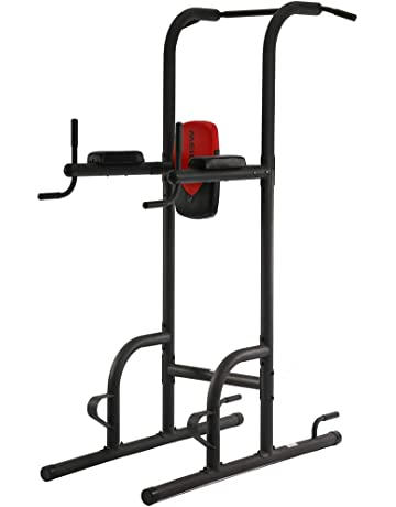 BestMassage Power Tower Exercise Equipment Durable Adjustable Multi-Fucdy Power Tower w/Dip Station