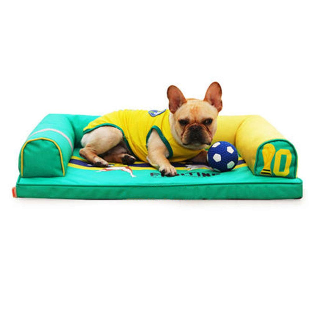 60×45cm LXLA Premium Orthopedic Waterproof Dog Bed with Removable Washable Non-slip Cover and Memory Foam (Size   60×45cm)