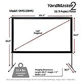 Elite Screens Yard Master 2, 110 inch Outdoor