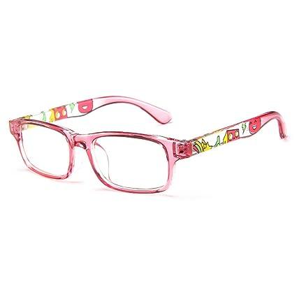 a6611661d2 Amazon.com  Fantia Unisex Child Non-Prescription Glasses Frame Clear Lens  Kids Eyeglasses (2 -Pink)  Health   Personal Care