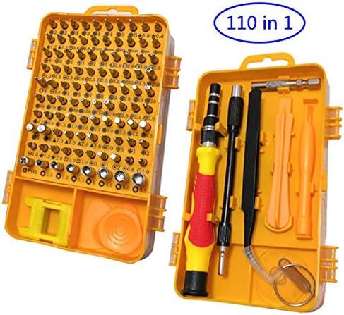 Akiko - Juego de destornilladores de precisión 110 en 1 con puntas ...