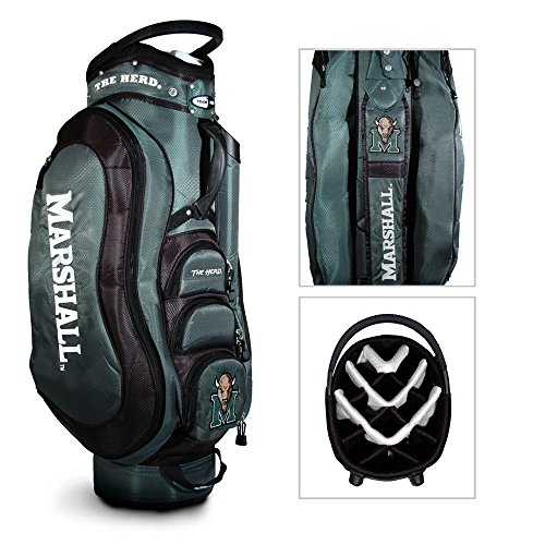 NCAA Marshall Medalist Golf Cart Bag by Team Golf