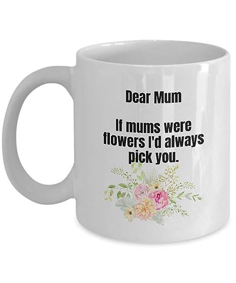 Idee Regalo Di Compleanno Per La Mamma.F0306 Tazze Da Te O Caffe Con Motivo Floreale Idea Regalo Per