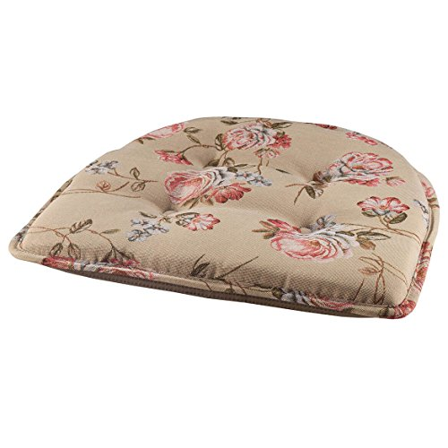 (Miles Kimball Kimberly Rose Tapestry Chair Pad)