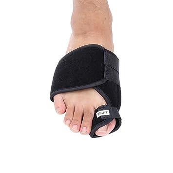 2pcs Corrector de juanete dedo gordo del dedo gordo del pie Plancha corrector pulgar Corrección de