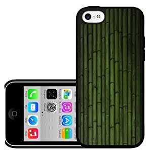 Green Bamboo Plant Life Hard Snap on Phone Case (iPhone 5c)