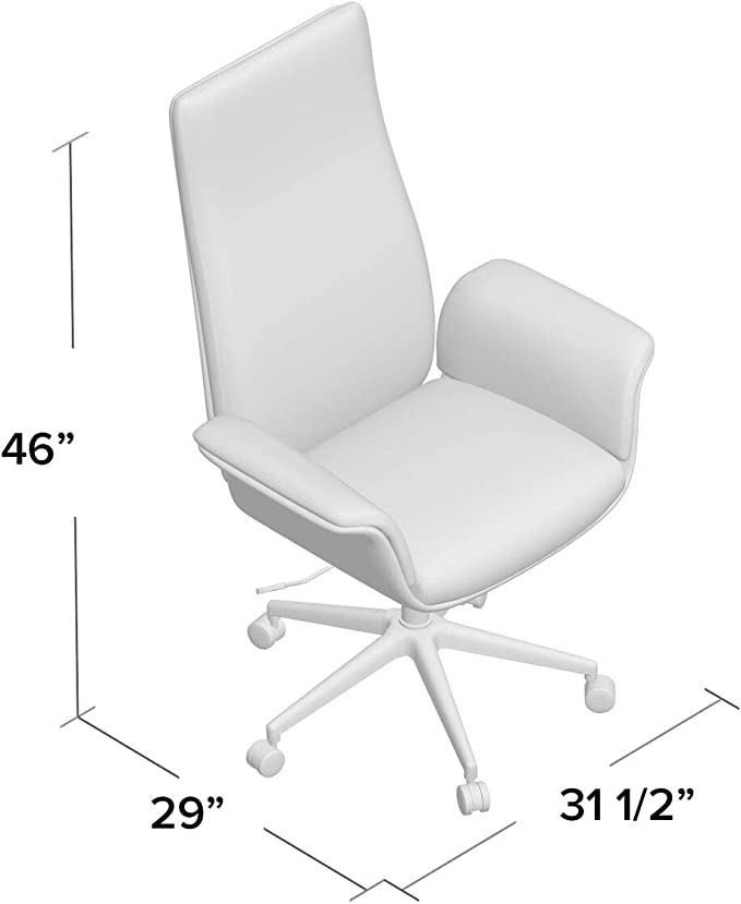 Amazon Com Nordstrom Executive Chair Kitchen Dining
