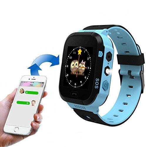 Reloj inteligente para niños TKSTAR SOS alarma de 2 vías para control de mensajes de los