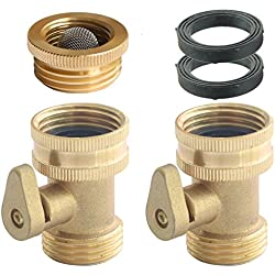 Solid Brass Water Hose Shut-Off Valve
