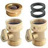 3 4 brass spigot - PLG Solid Brass Water Hose Shut-Off Valve
