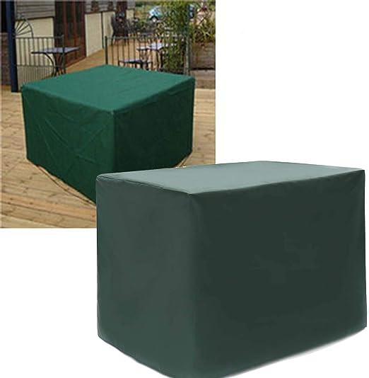 DSGYYK Fundas Muebles Jardin, Tamaño Grande Fundas para Muebles Impermeable Al Aire Libre, Funda para Mesa y Silla para Patio Rectangular: Amazon.es: Hogar