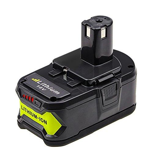 Dosctt for Ryobi ONE+ 18V 6.0Ah Li-Ion Battery RB18L50 RB18L40 RB18L25 P108...