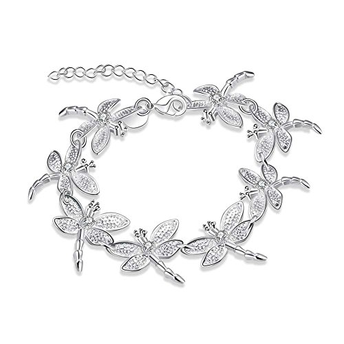 Boosic Square Dragonfly Slipper Bracelet
