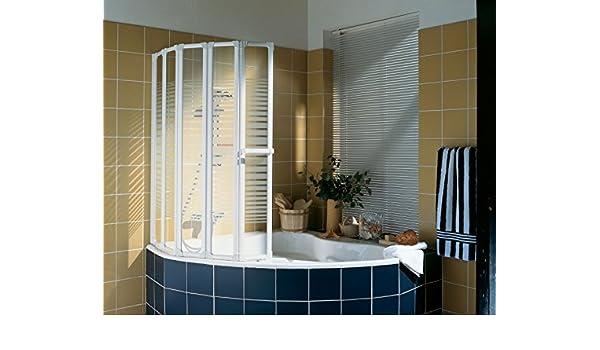 Mampara de baño plegable 5 volets: Amazon.es: Bricolaje y herramientas