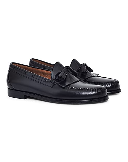 c868554f2e6 Mens G.H Bass Weejuns Layton Moc Kiltie Loafer Work Office Leather ...