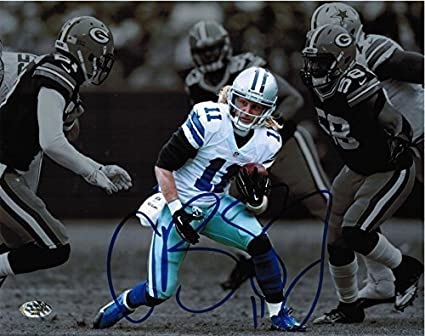 cced515ed Cole Beasley Autographed Dallas Cowboys 8x10 Photo at Amazon s ...