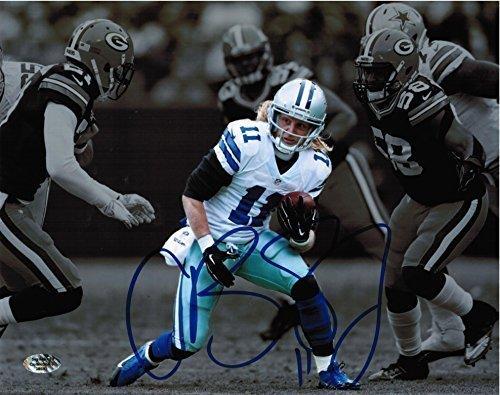 Cole Beasley Autographed Dallas Cowboys 8x10 Photo