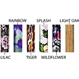 Essential Medical Supply Spring Garden Collection Wood Derby Handle Cane, Tiger