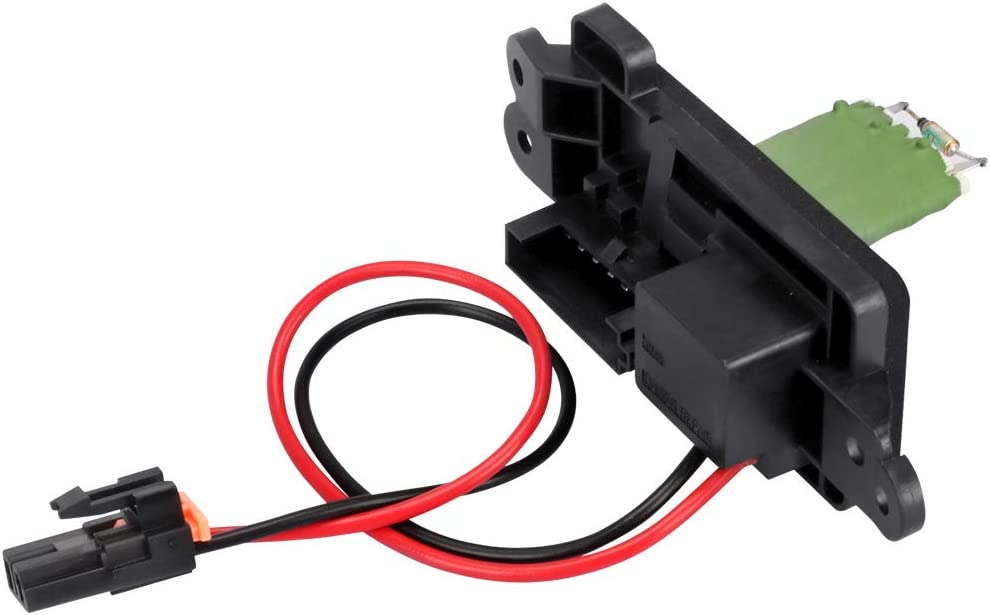 TTIIHOT Compatible with 89019089 HVAC Blower Motor Fan Resistor 1999-2007 Silverado GMC 1500 2500 3500 HD w//Manual Air Conditioning 89018597 Replaces 22807122 973-004