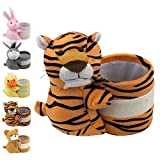 Eyeglass Holder Glasses Stand with Cute Plush Animal Character Design, Tiger, By OptiPlix