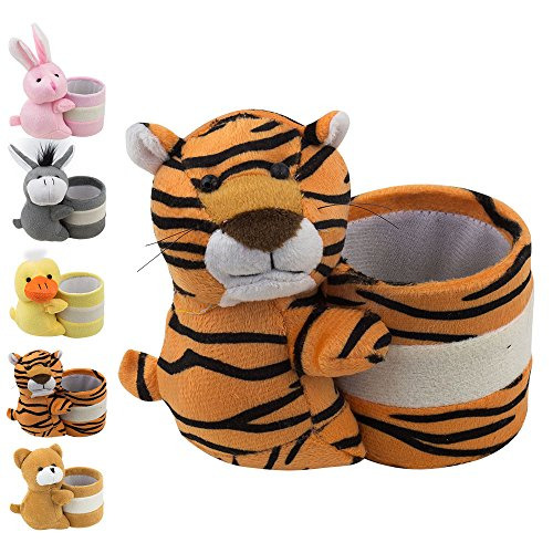 Eyeglass Holder Glasses Stand with Cute Plush Animal Character Design, Tiger, By ()